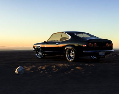 Mazda Savanna GT RX-3 (1975) - 3D modelling and visualization