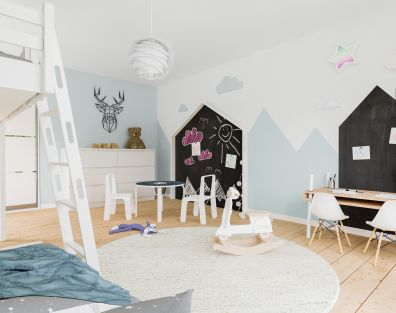 Scandinavian childroom - interior design
