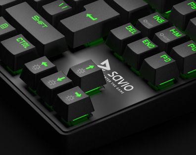 SAVIO Keyboard / Product CGI & Packaging Design